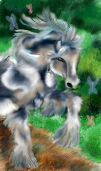 Horse of the Forest by Aleka