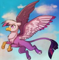 Twilight Gryphon by howlingvoice