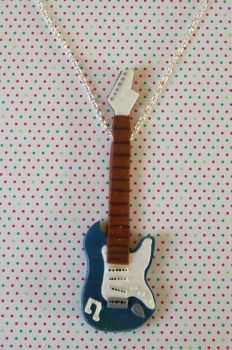 Rockin' guitar necklace by PORGEcreations