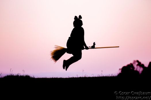 Kiki: Into the Sunset by OscarC-Photography