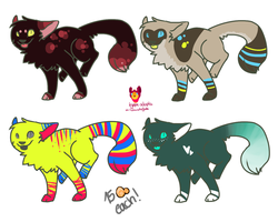 Quick and cheap Cat adopts OPEN by ColoursAndJerks