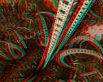 Elevator to the center of Nibiru Anaglyph 3D by Osipenkov