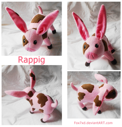 Rappig Plush by Fox7XD