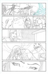 Myths Lineart Page 05 by Blaquesmith