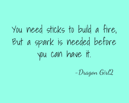 Fire quote by DragonWolfGirl2