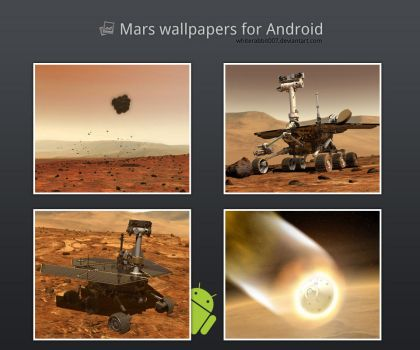 Mars wallpapers for Android by whiterabbit007