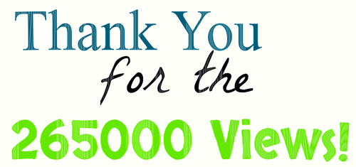 Thank You for the 265000 Views by EarWaxKid
