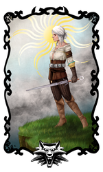 -Witcher Tarot: The Fool- by SoulRansome