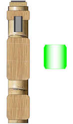 Bamboo Lightsaber by TheSciFiArtisan