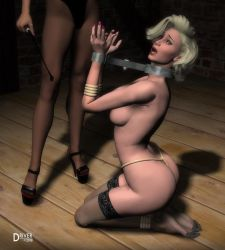DA Ladies-Kidnapped- Sonja Dominica by Driver651