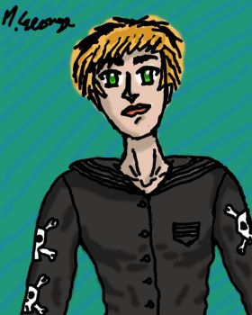 Drawing Of A Tomboy by xMxAxGx