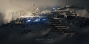 COLONIE R PORT - 2100 by Grivetart