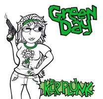 Green Day - KERPLUNK Album Cover by detstar