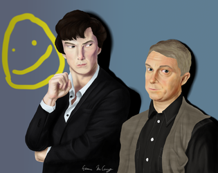 Let's Draw Sherlock by dedicatedfollower467