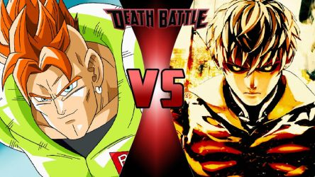 Android 16 vs. Genos by OmnicidalClown1992