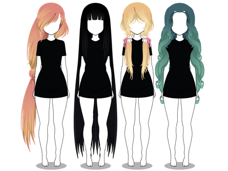 Kisekae Hair Favourites By Clairejacksonisdead On Deviantart