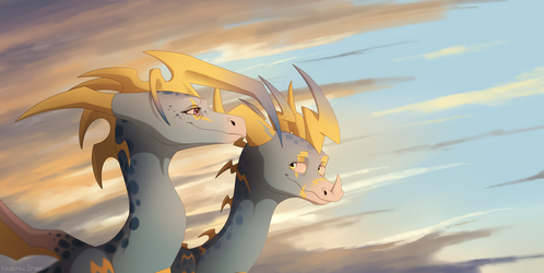 As long as we stick together by IcelectricSpyro
