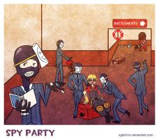 Spy Party by sgtst0rm