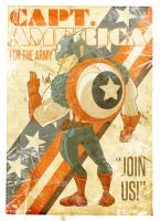 Cap wants you by Tursy