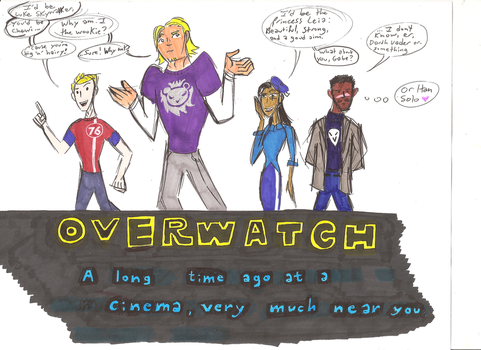May the 4th Overwatch by Scared2dream