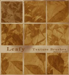 Leafy Brushes by kittysphoenix