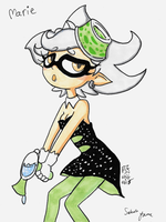 Marie from Splatoon Commission by Tsukiko-chan