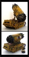 40k Imperial Termite and Transporter by JDHerring