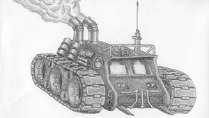 Steampunk tank by Mate-Corporation