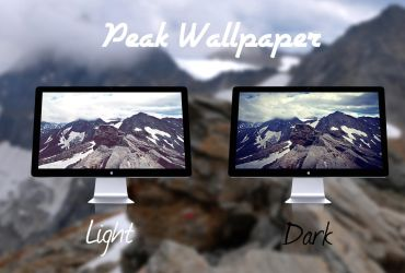 Peak Wallpaper by rudolfzz111