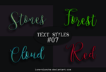 Text Styles #07 by lune-blanche
