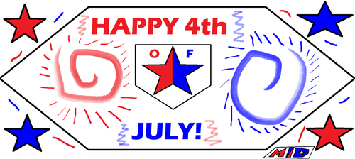 Happy Fourth of July Sign by multidude233