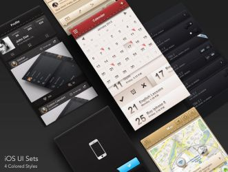 Ios Ui Sets by RosscoMT