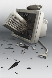 Hardware Failure by evilhomer145