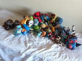 ALL MY POKEMON PLUSHIES UPDATE #5