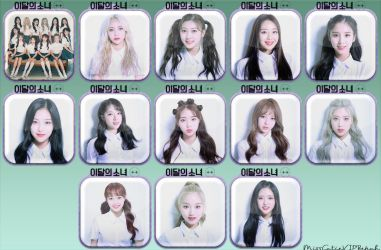 LOONA ++ Icons by MissCatieVIPBekah