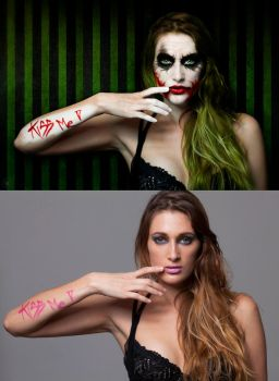 Fem-Joker before-after by Soul-Invictus
