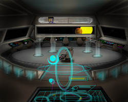 Spacecraft Interior Free to Use in your Comic! by skycladstrega