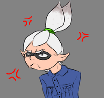 Angry Squiddy :D (WARNING:Flashing colors) by nightwindwolf95
