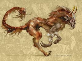 Manticore by Kipestshin