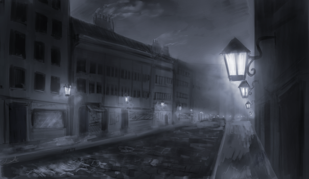 Nocturnal Smog by DeathTheBunny