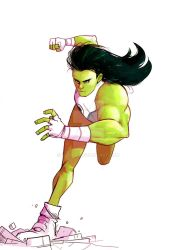 She-Hulk by SebasP