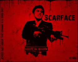 Scarface Wallpaper by Kloes