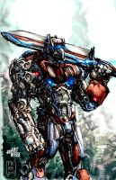 Optimus Prime by Fpeniche