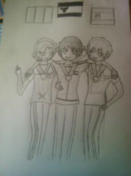bad touch trio WIP by KatiaGavin