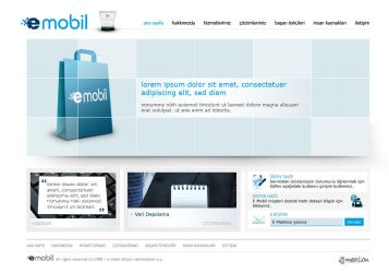 E-Mobil Web Design by OzerKarakus