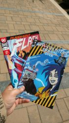 Flash #51 And Ghostbusters Crossing Over #5 by OtakuDude83