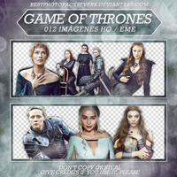 Pack Png 2255 - Game of Thrones by xbestphotopackseverr