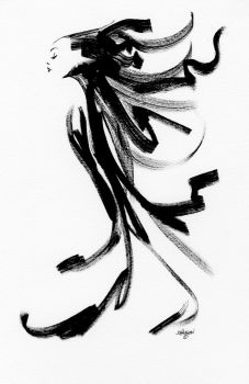 Sumi girl by Devilpig