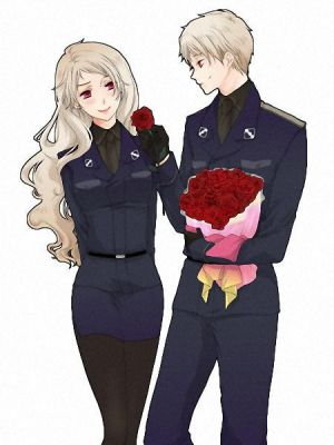 Red Roses (Bully!Prussia x Bullied!Reader) by theweirddarkness on