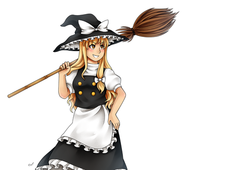 A black-white magician by aimturein